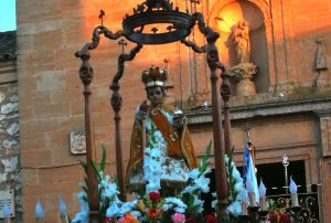 Fiestas de moros y cristianos en Valera de Abajo