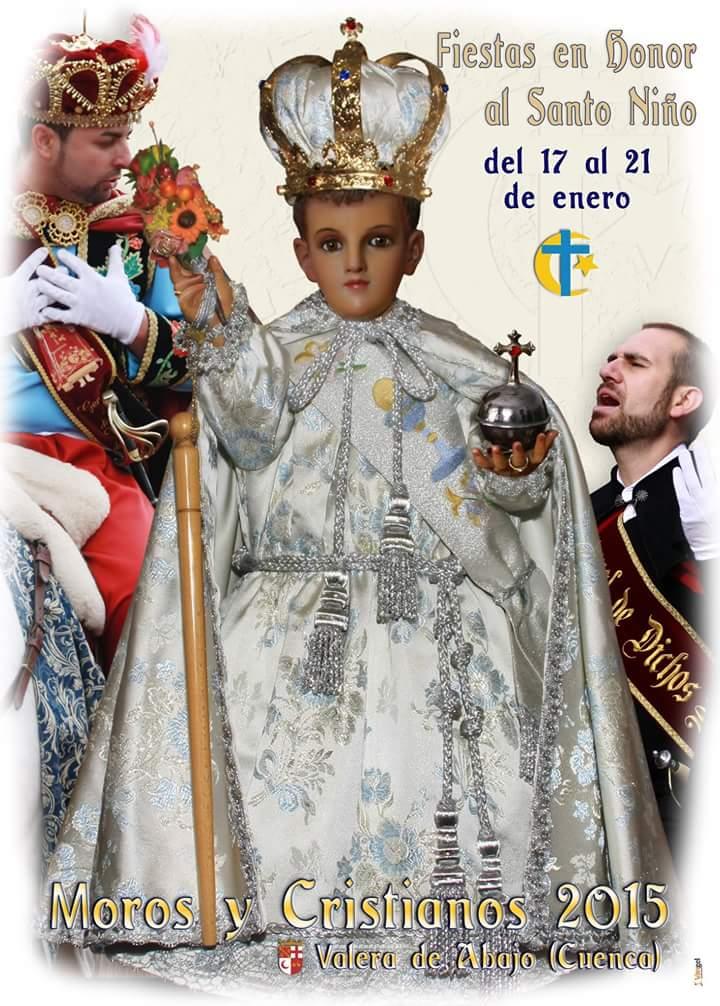 Cartel Fiestas Moros y Cristianos 2015