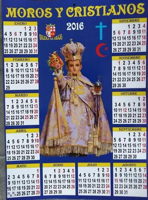 Cartel Fiestas Moros y Cristianos 2016