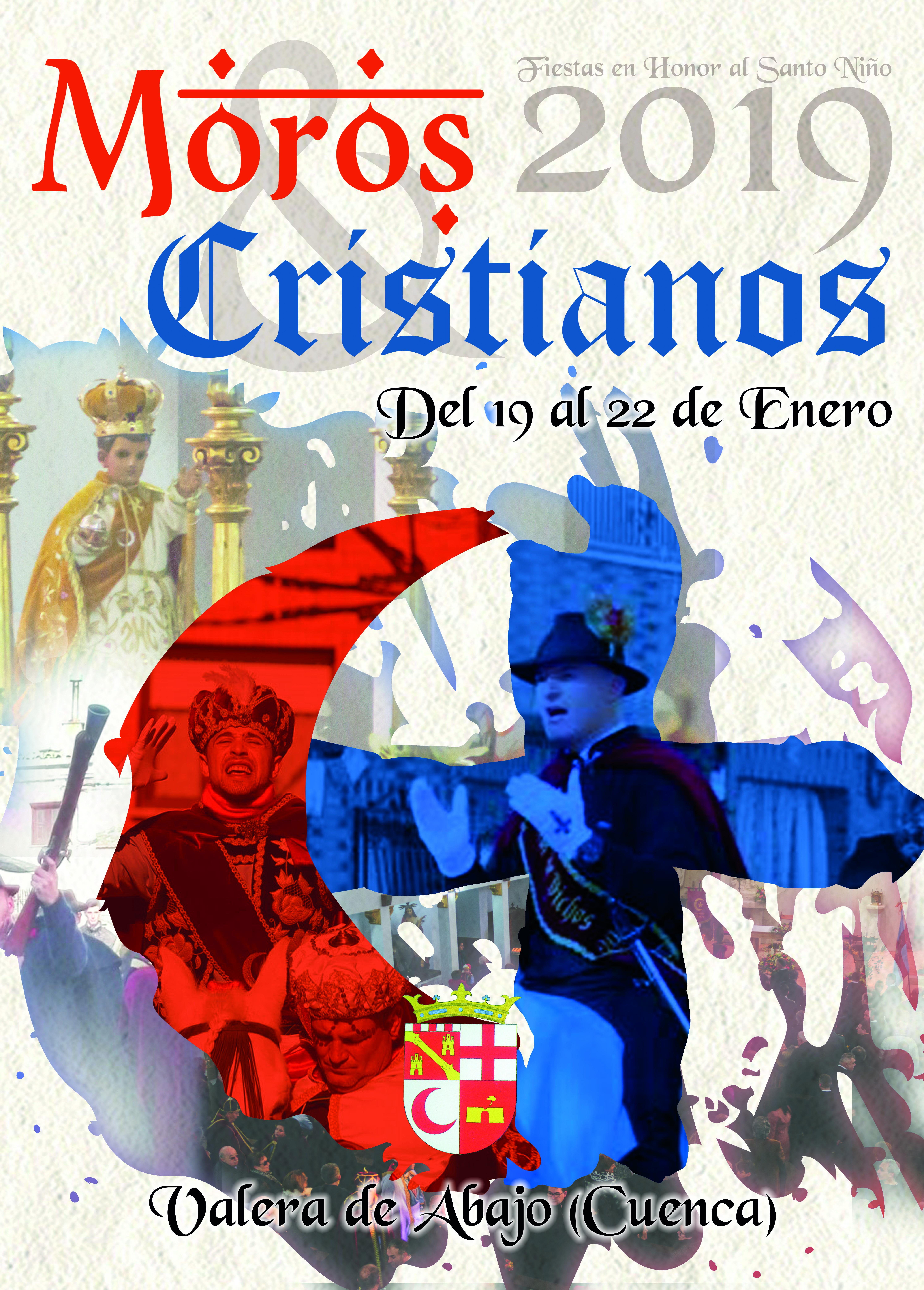 Cartel Fiestas en honor al Santo Niño 2019