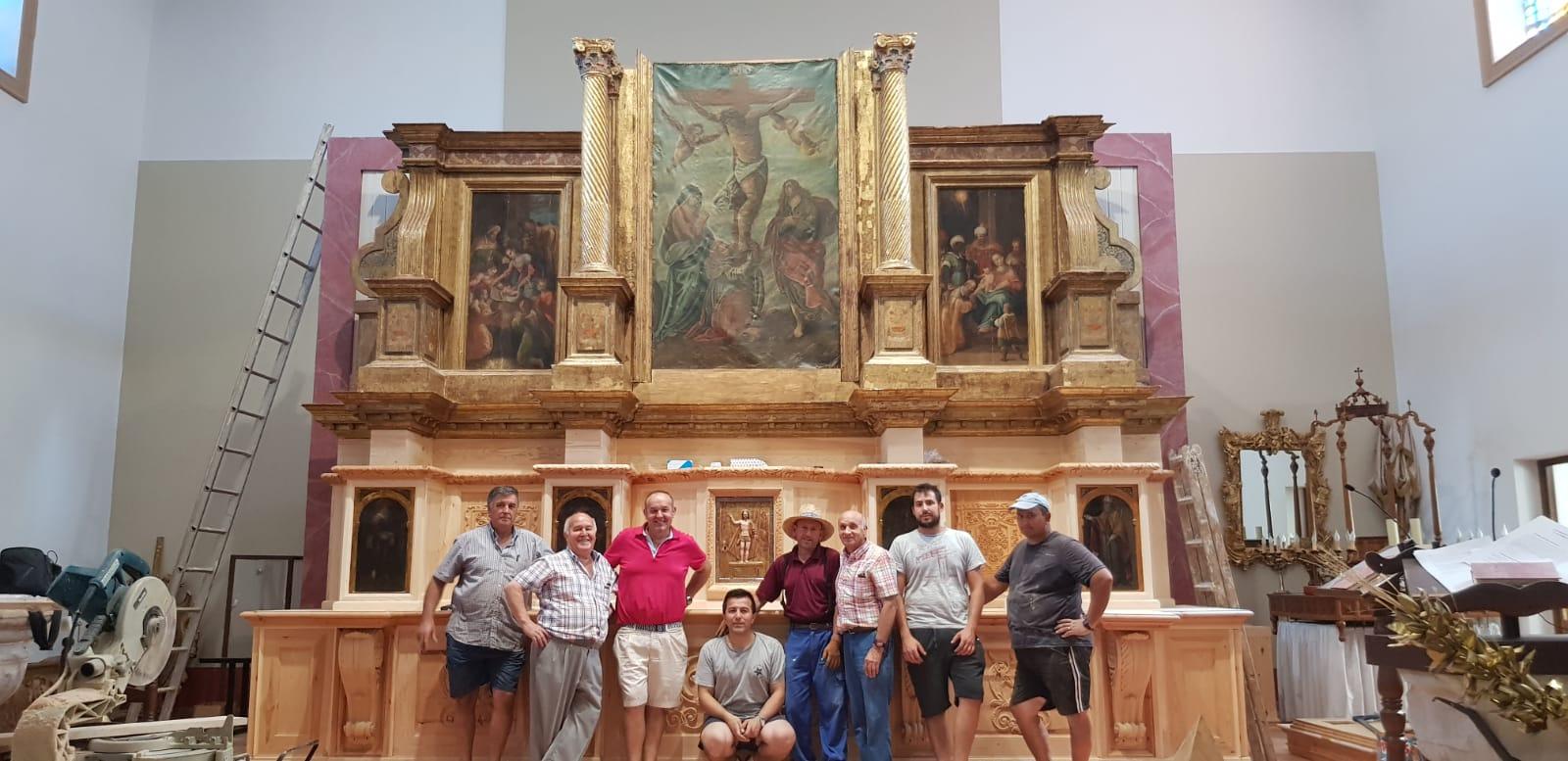 Retablo iglesia grande