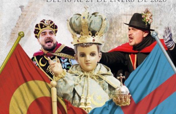 Cartel Fiestas en honor al Santo Niño 2020